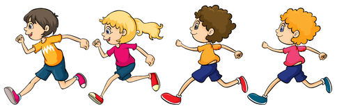 Image result for school children running clipart